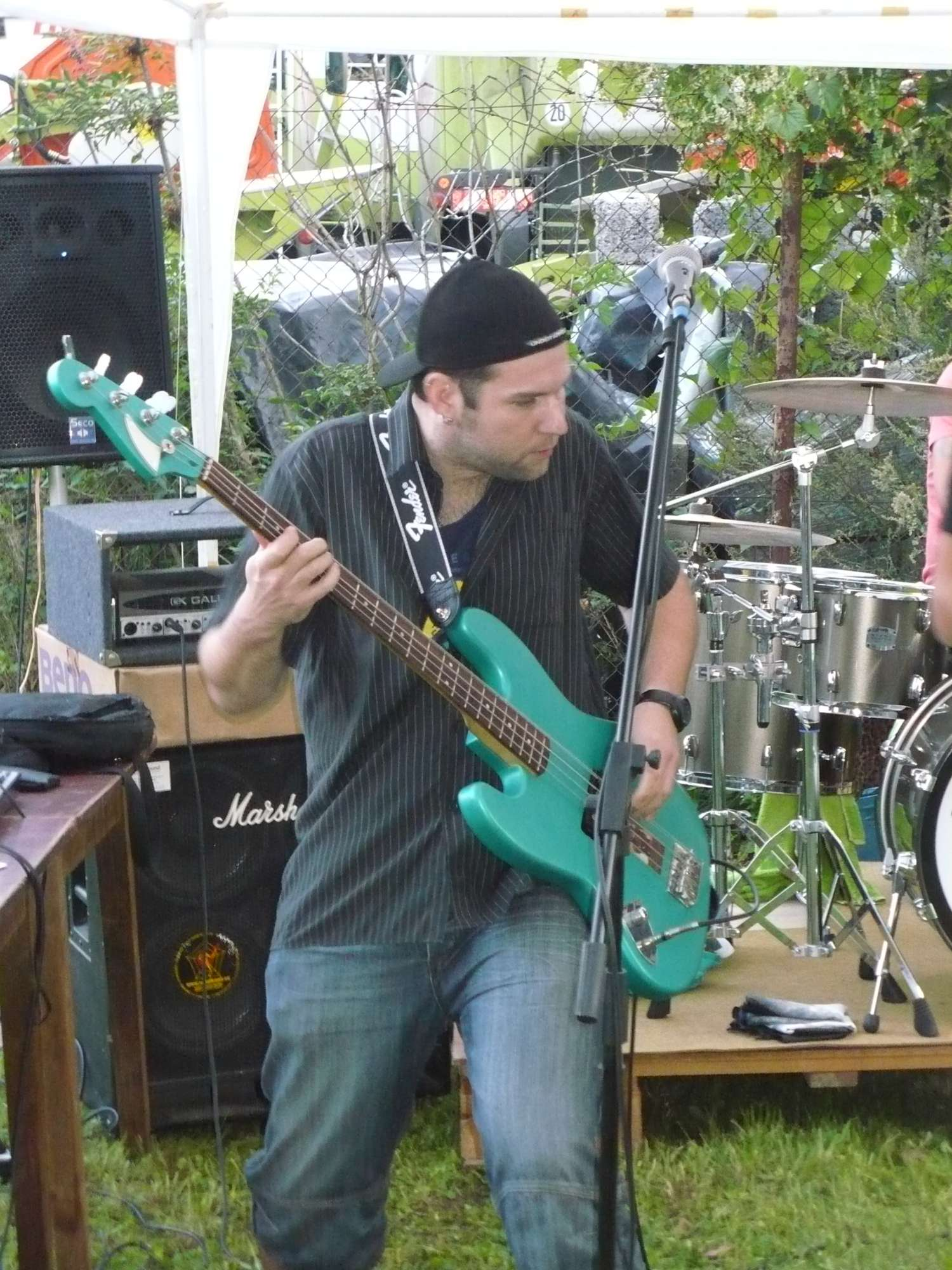 Brána, Polkovice [3] (30.9.2014) - Kervežekson (crossover kapela z Prostějova)