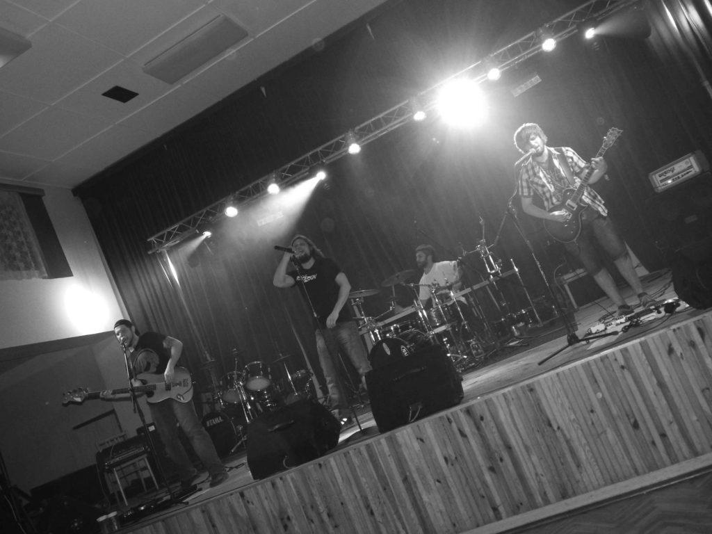 The November Revolution Day of Metal, Čelčice [13] (15.11.2014) - Kervežekson (crossover kapela z Prostějova)