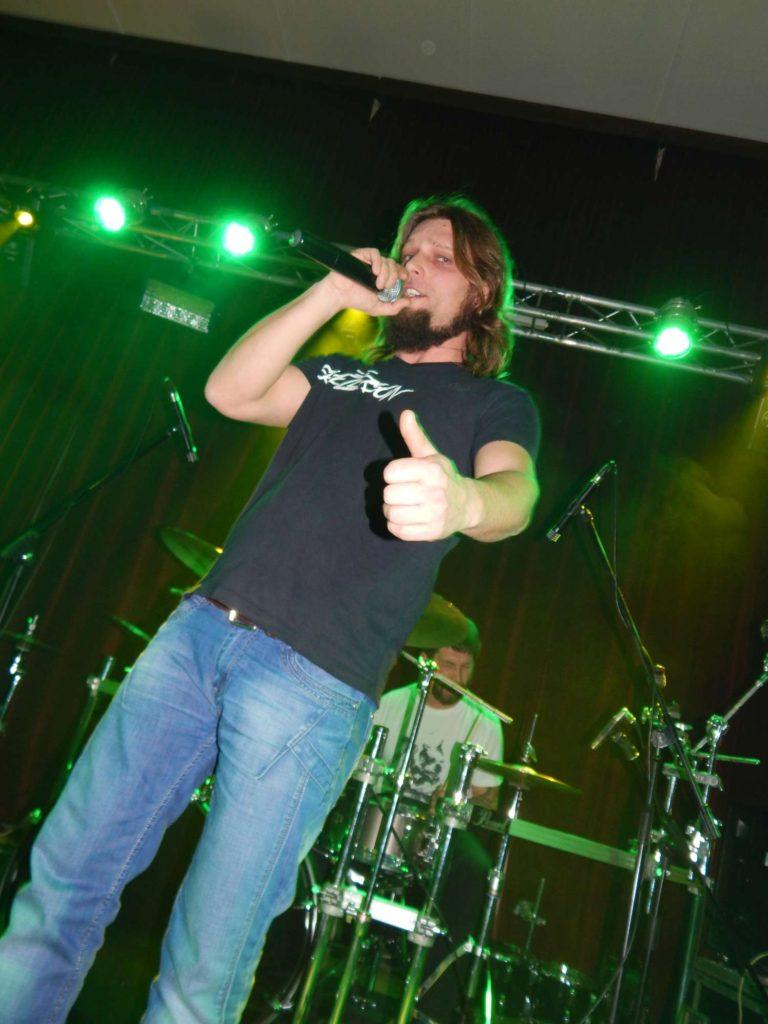 The November Revolution Day of Metal, Čelčice [5] (15.11.2014) - Kervežekson (crossover kapela z Prostějova)