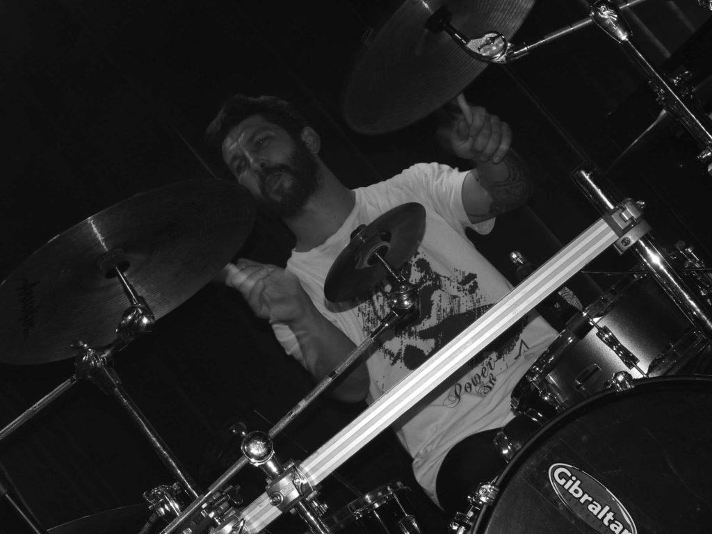 The November Revolution Day of Metal, Čelčice [9] (15.11.2014) - Kervežekson (crossover kapela z Prostějova)