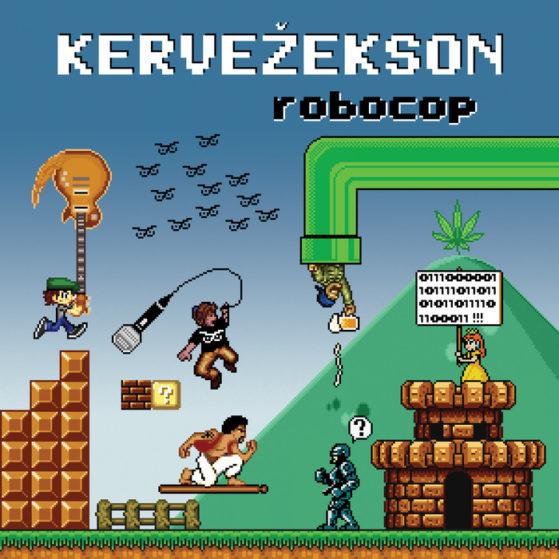 Album - Robocop (2016) - Kervežekson (crossover kapela z Prostějova)