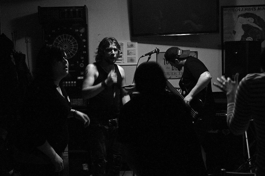 Pařba U Kulaté vol.3, Prostějov [12] (19.4.2014) - Kervežekson (crossover kapela z Prostějova)