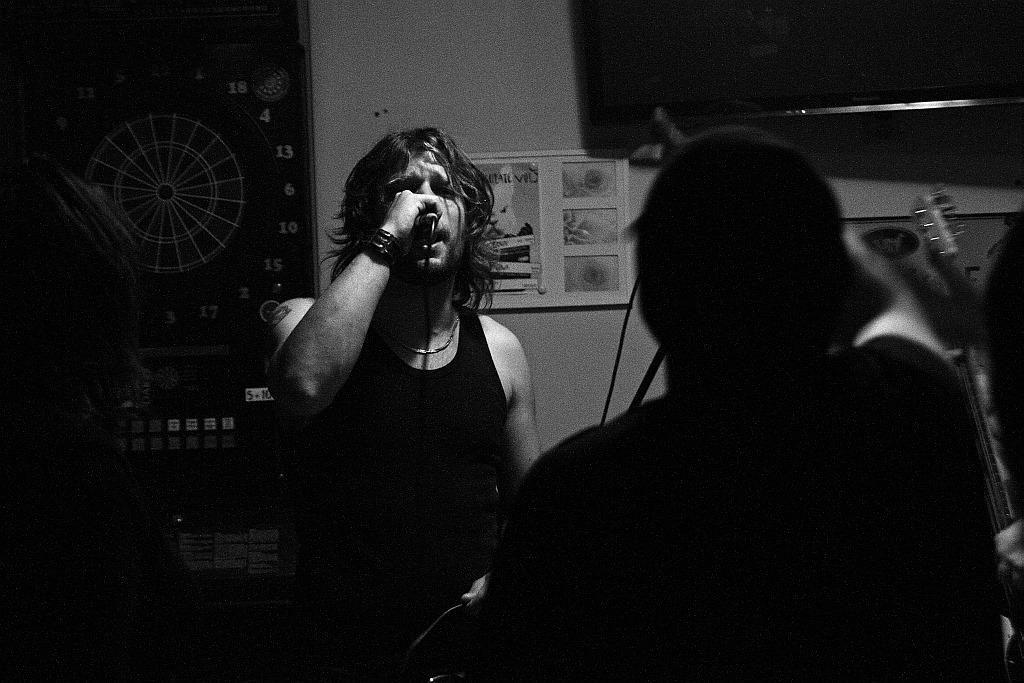 Pařba U Kulaté vol.3, Prostějov [13] (19.4.2014) - Kervežekson (crossover kapela z Prostějova)