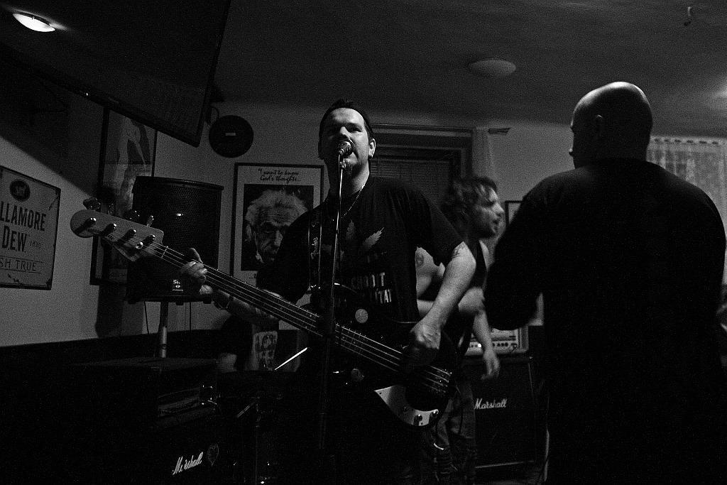 Pařba U Kulaté vol.3, Prostějov [2] (19.4.2014) - Kervežekson (crossover kapela z Prostějova)