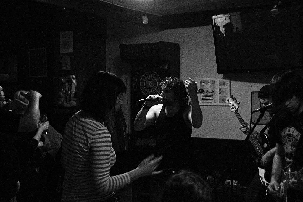Pařba U Kulaté vol.3, Prostějov [9] (19.4.2014) - Kervežekson (crossover kapela z Prostějova)