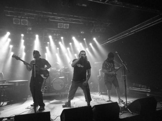 Audiotek Night, Melodka, Brno [2] (4.2.2015) - Kervežekson (crossover kapela z Prostějova)