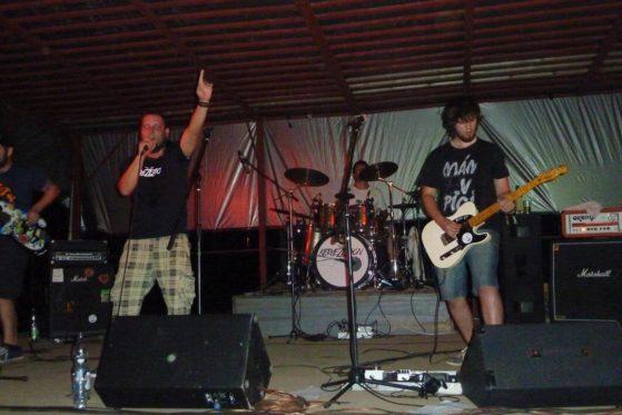 Křest CD kapely Dejsi, Bombastic, Vyškov [1] (14.8.2015) - Kervežekson (crossover kapela z Prostějova)