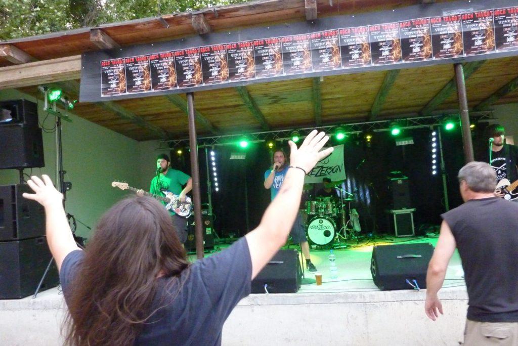 Rock Talent 2015, Němčice nad Hanou [1] (15.8.2015) - Kervežekson (crossover kapela z Prostějova)