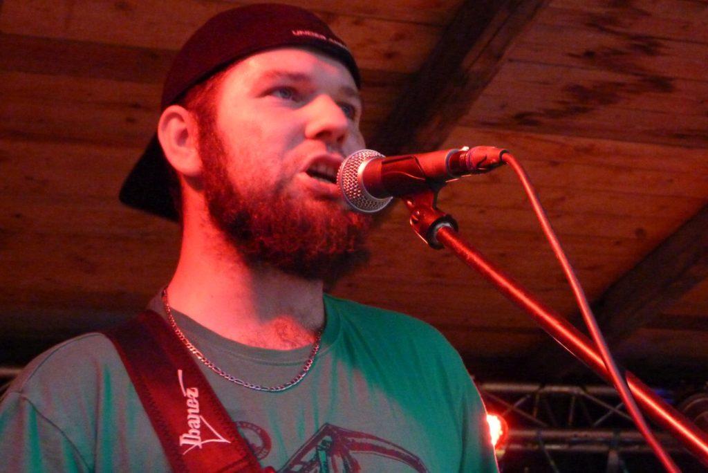 Rock Talent 2015, Němčice nad Hanou [5] (15.8.2015) - Kervežekson (crossover kapela z Prostějova)