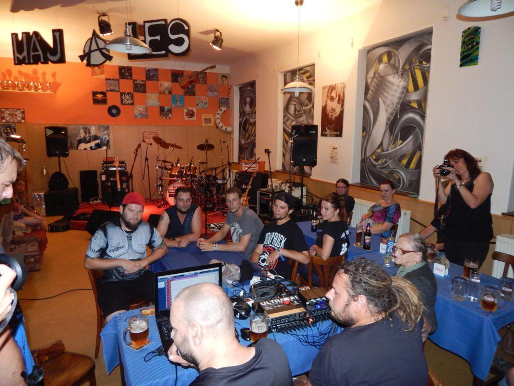 Hudba z Kristýnky, Rocková Pivnice Kristýnka, Kojetín [7] (10.7.2017) - Kervežekson (crossover kapela z Prostějova)