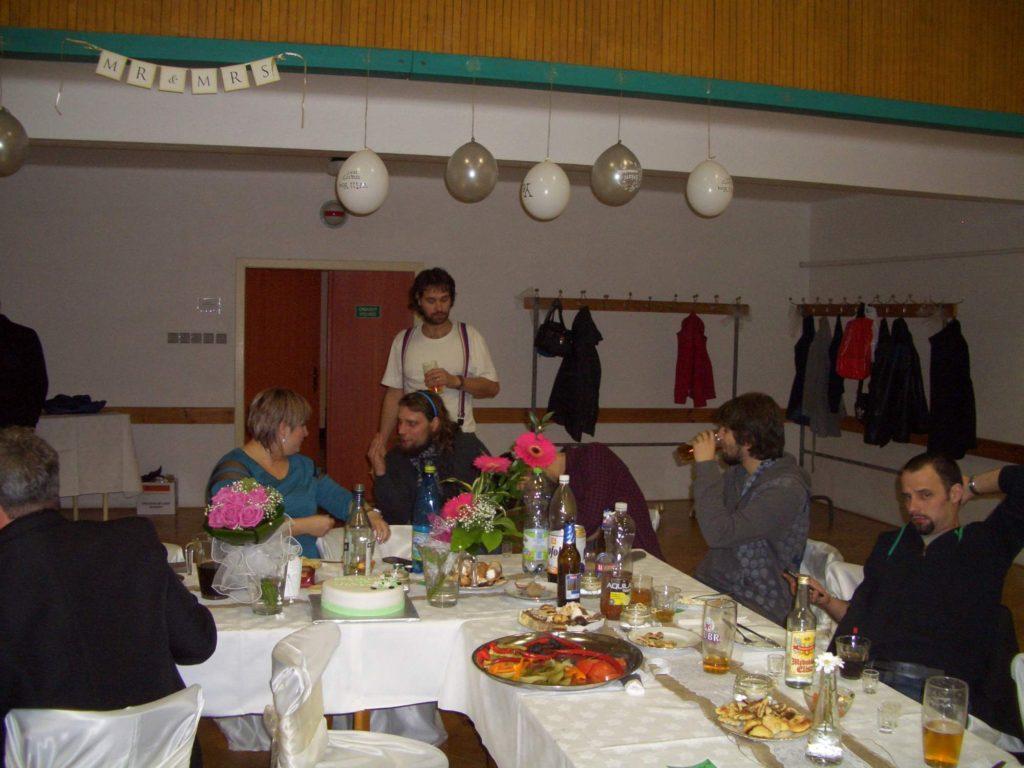 Svatba, Stříbrnice [1] (1.11.2014) - Kervežekson (crossover kapela z Prostějova)