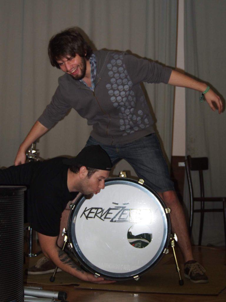 Svatba, Stříbrnice [7] (1.11.2014) - Kervežekson (crossover kapela z Prostějova)