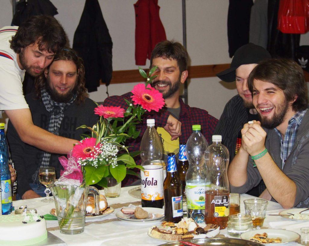 Svatba, Stříbrnice [9] (1.11.2014) - Kervežekson (crossover kapela z Prostějova)