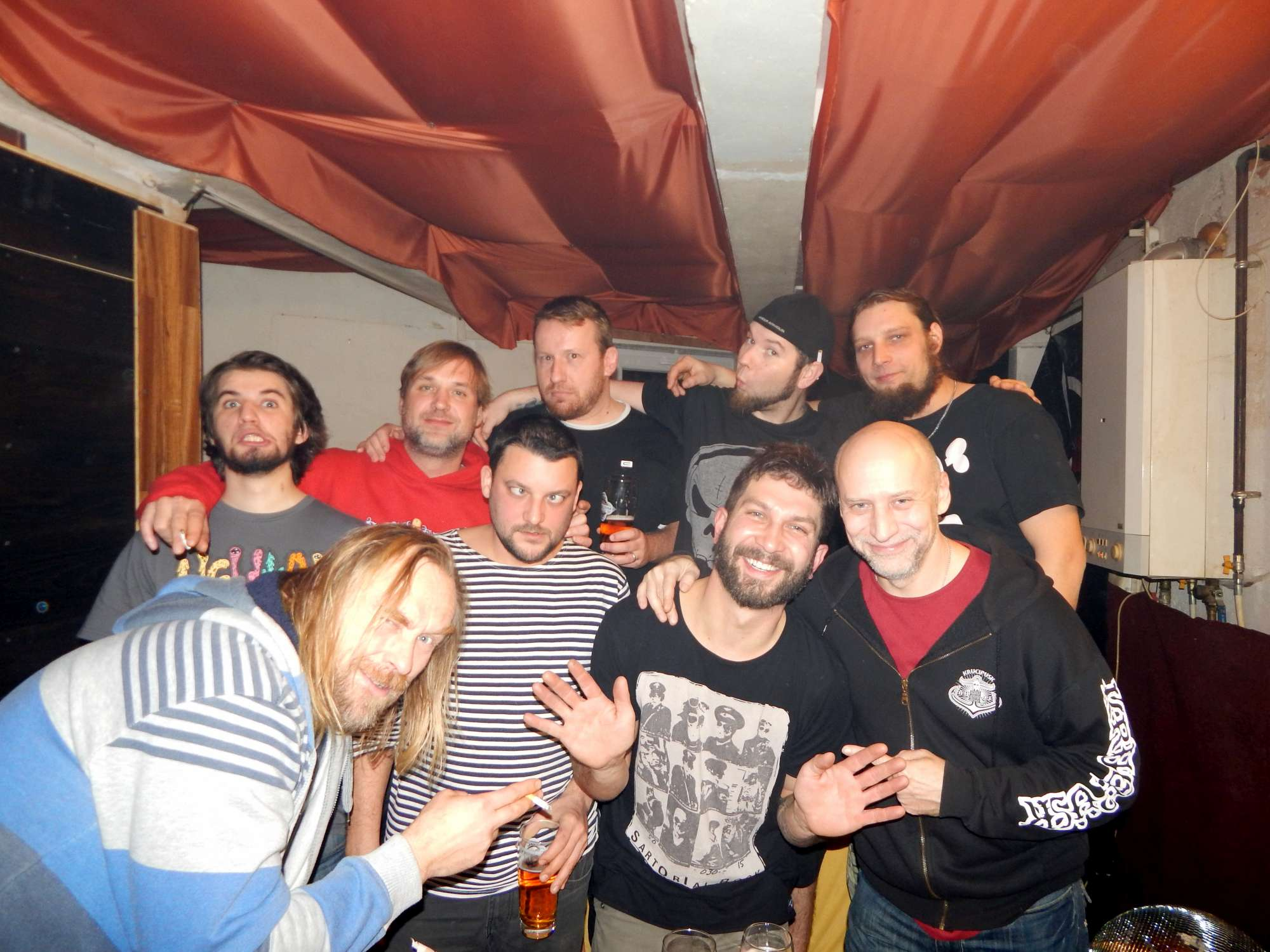 Krucipüsk a Kervežekson, Apollo 13, Prostějov [19] (6.12.2014) - Kervežekson (crossover kapela z Prostějova)