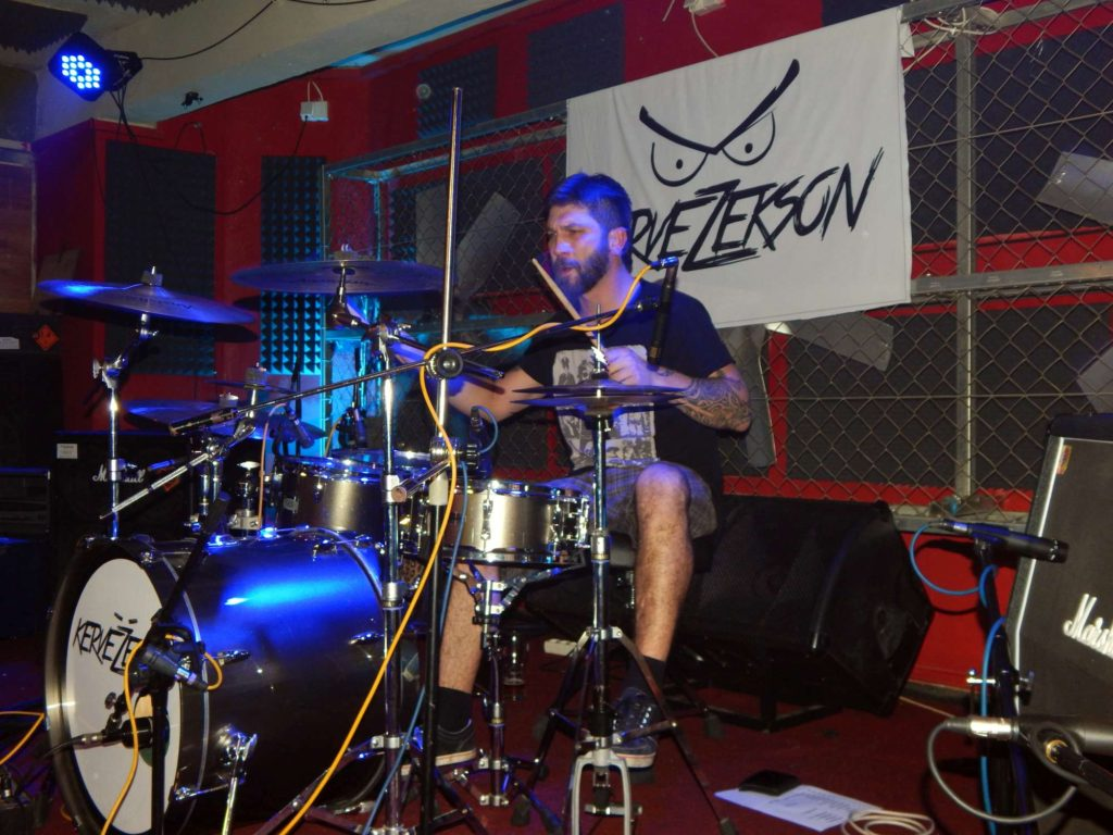 Krucipüsk a Kervežekson, Apollo 13, Prostějov [6] (6.12.2014) - Kervežekson (crossover kapela z Prostějova)