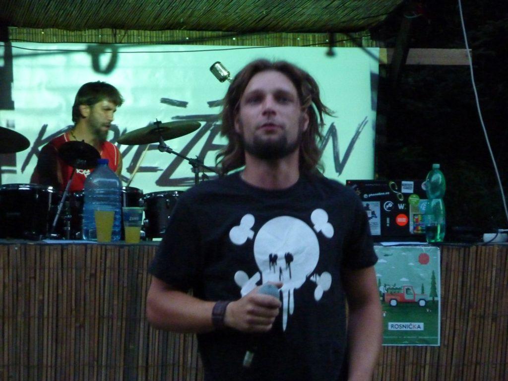 Open Air Valley (rock'n'roll live edition), Drahany [1] (19.7.2014) - Kervežekson (crossover kapela z Prostějova)