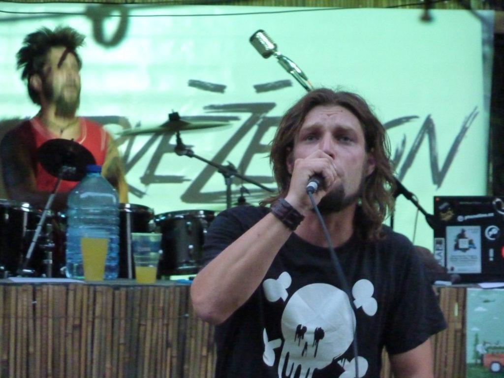 Open Air Valley (rock'n'roll live edition), Drahany [5] (19.7.2014) - Kervežekson (crossover kapela z Prostějova)
