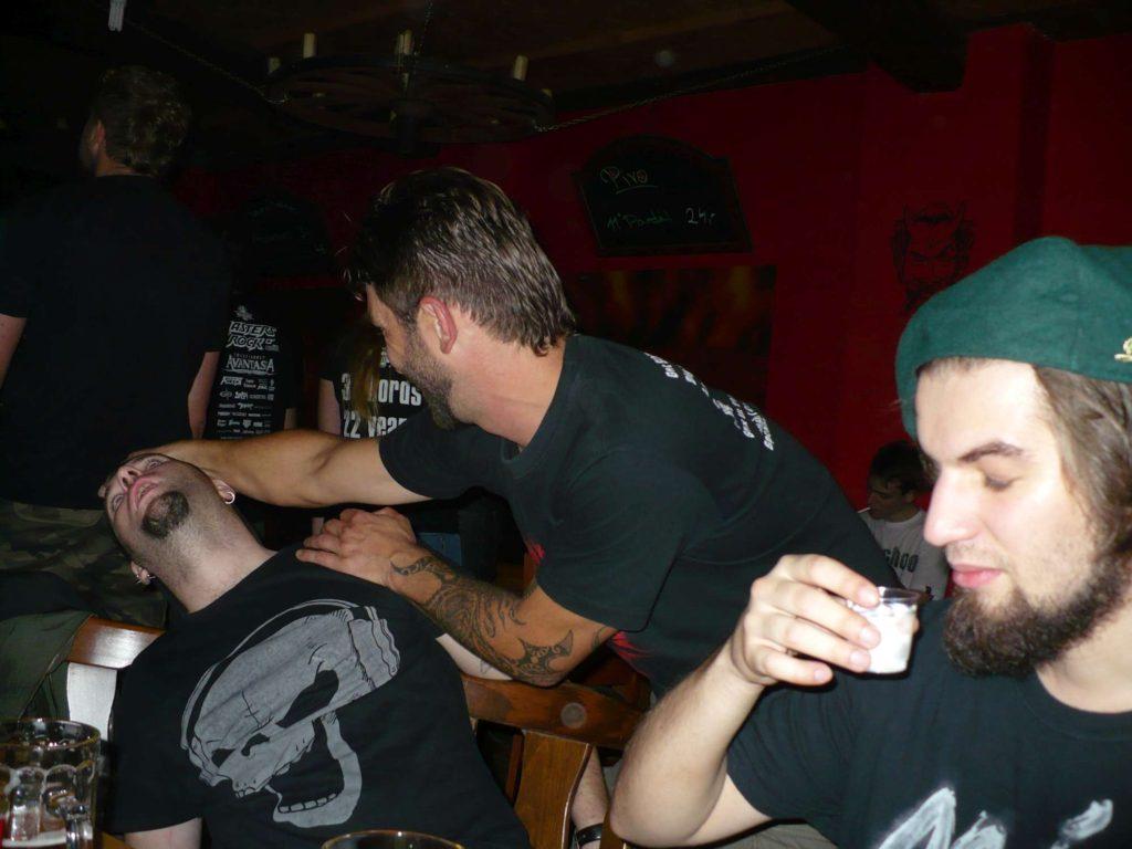 Back to School U Čerta, Olomouc [14] (28.9.2014) - Kervežekson (crossover kapela z Prostějova)