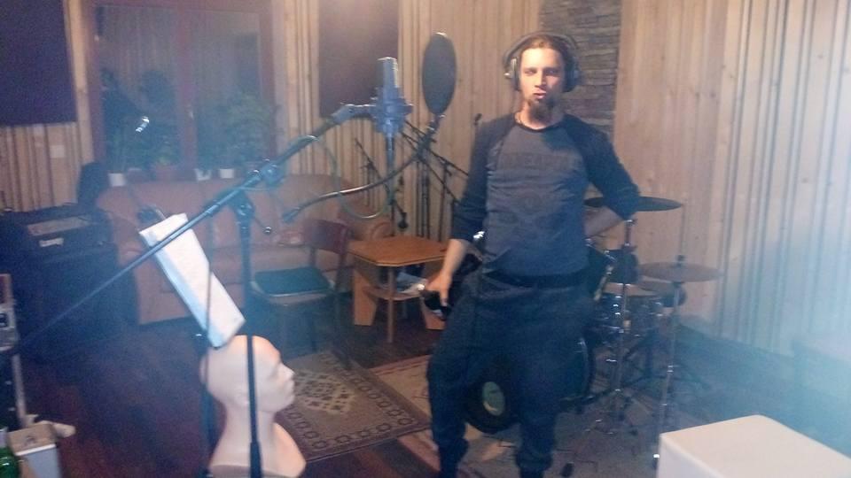 """Nahrávání ve studiu - Album """"Robocop"""" [2] - Kervežekson (crossover kapela z Prostějova)"""