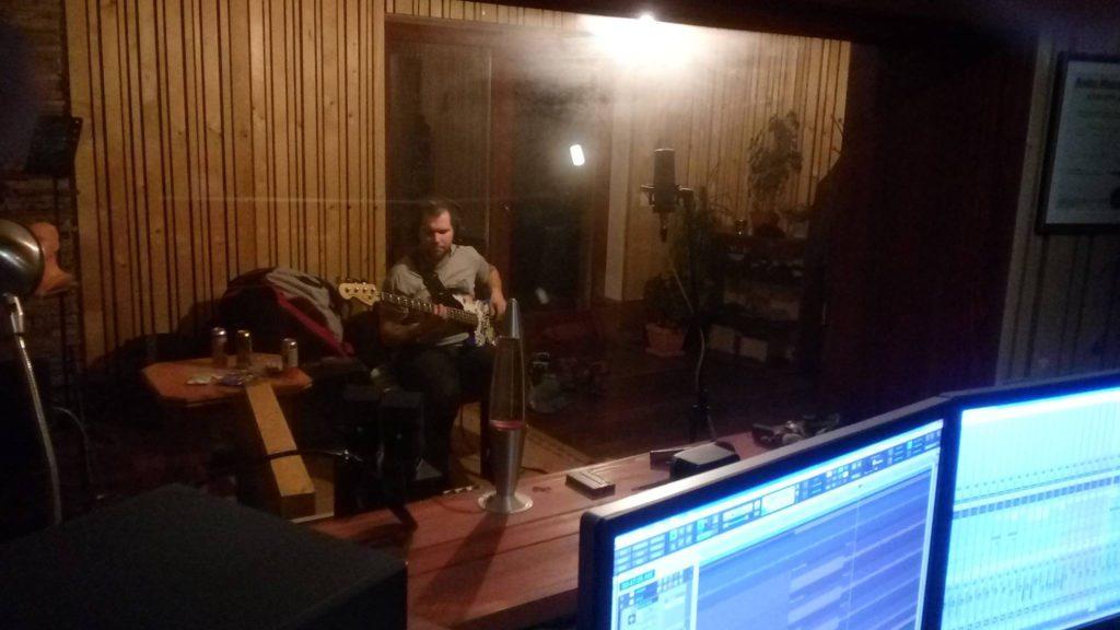 """Nahrávání ve studiu - Album """"Robocop"""" [3] - Kervežekson (crossover kapela z Prostějova)"""
