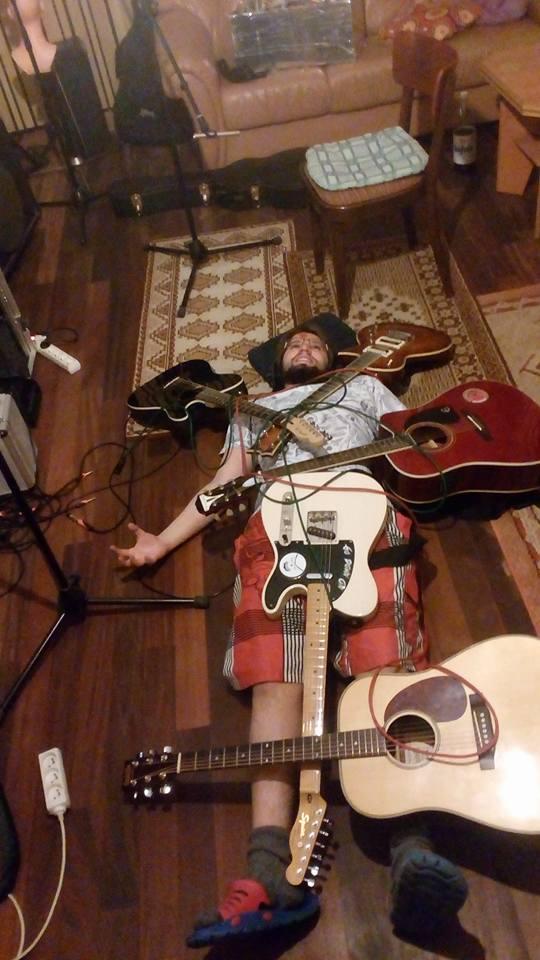 """Nahrávání ve studiu - Album """"Robocop"""" [9] - Kervežekson (crossover kapela z Prostějova)"""