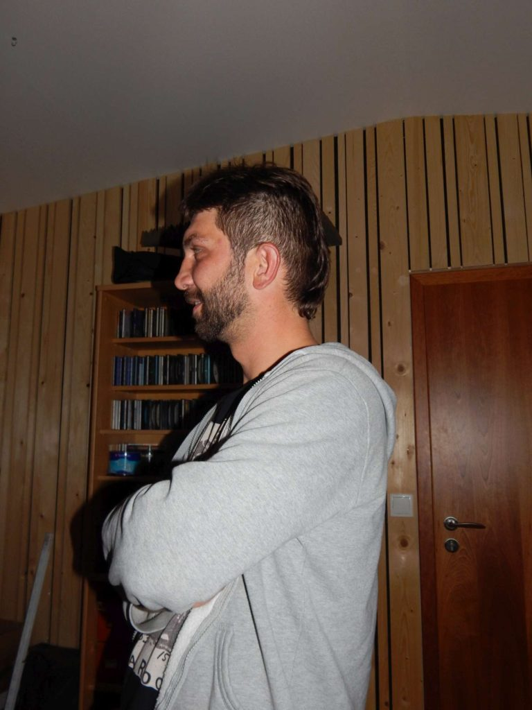 """Nahrávání ve studiu - Album """"Ty Picho..."""" [11] - Kervežekson (crossover kapela z Prostějova)"""
