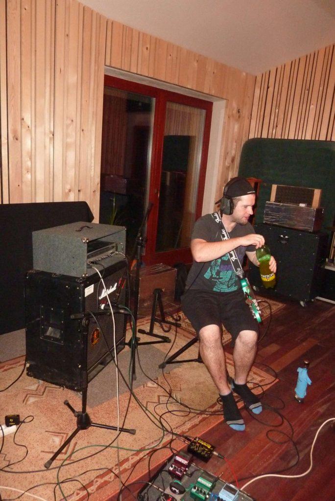 """Nahrávání ve studiu - Album """"Ty Picho..."""" [13] - Kervežekson (crossover kapela z Prostějova)"""