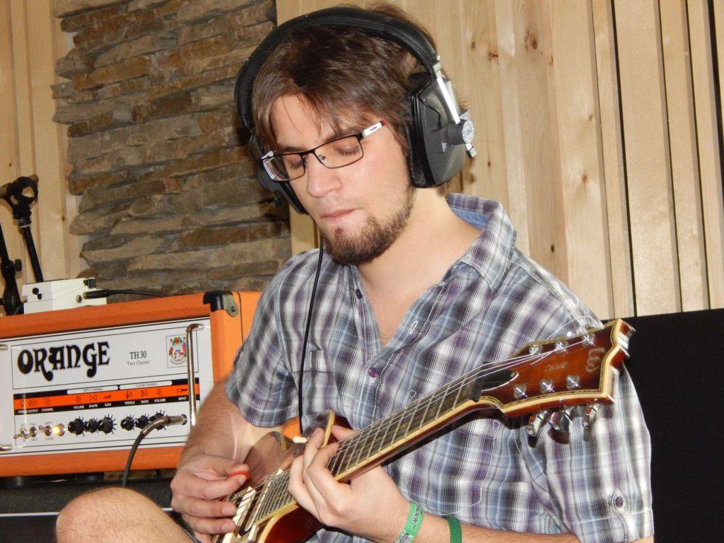 """Nahrávání ve studiu - Album """"Ty Picho..."""" [2] - Kervežekson (crossover kapela z Prostějova)"""