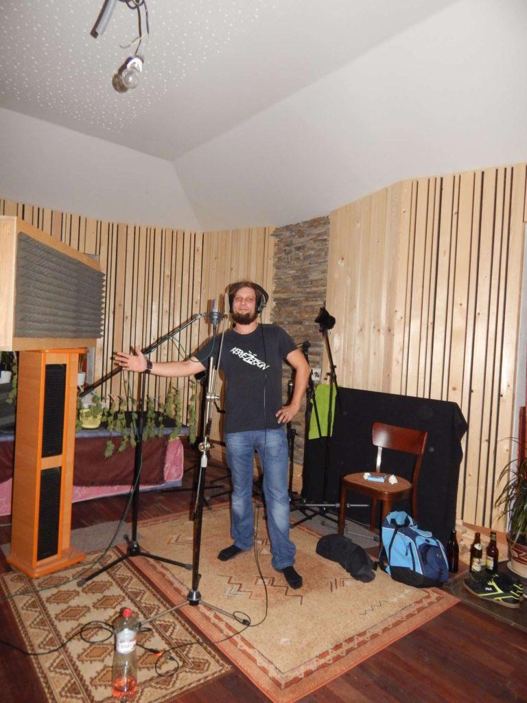 """Nahrávání ve studiu - Album """"Ty Picho..."""" [4] - Kervežekson (crossover kapela z Prostějova)"""