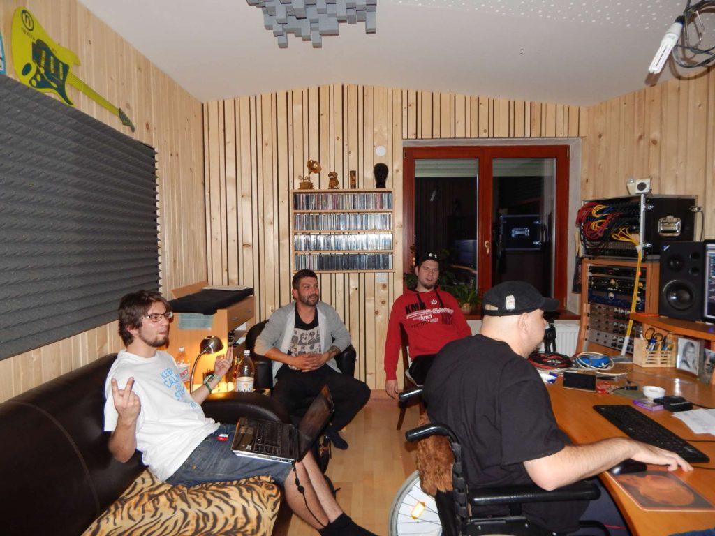 """Nahrávání ve studiu - Album """"Ty Picho..."""" [6] - Kervežekson (crossover kapela z Prostějova)"""